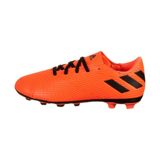 Nemeziz 19.4 FxG Fußballschuh Kinder, orange / schwarz, zoom bei OUTFITTER Online