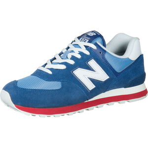 ML574-D Sneaker Herren, blau / rot, zoom bei OUTFITTER Online