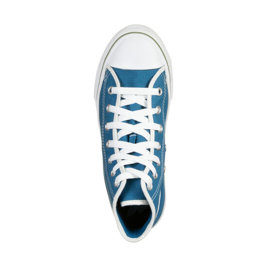 Chuck Taylor All Star High Sneaker Kinder, petrol / weiß, zoom bei OUTFITTER Online