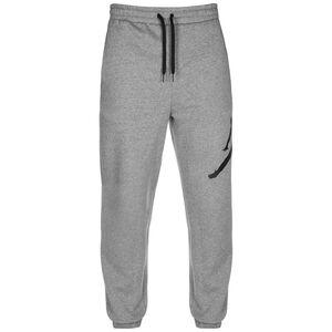 Jordan Jumpman Logo Fleece Trainingshose Herren, grau / schwarz, zoom bei OUTFITTER Online
