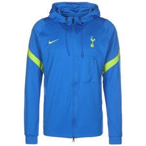 Tottenham Hotspur Strike Trainingsjacke Herren, blau / hellgrün, zoom bei OUTFITTER Online