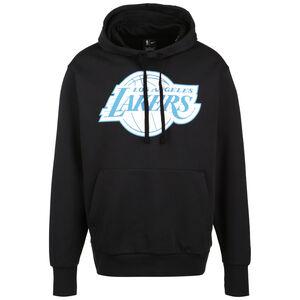NBA Los Angeles Lakers Essential Courtside Edition Kapuzenpullover Herren, schwarz / hellblau, zoom bei OUTFITTER Online