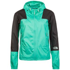 Mountain Light Windshell Kapuzenjacke Damen, grün / schwarz, zoom bei OUTFITTER Online