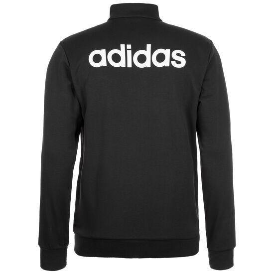 Essentials Linear Trainingsjacke Herren, schwarz / weiß, zoom bei OUTFITTER Online