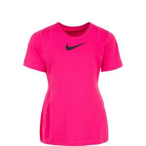 Pro Trainingsshirt Kinder, pink / schwarz, zoom bei OUTFITTER Online