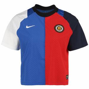 F.C. Fußballtrikot Damen, blau / weiß, zoom bei OUTFITTER Online