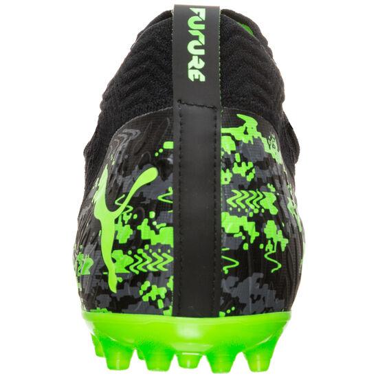 Future 19.2 Netfit MG Fußballschuh Herren, schwarz / grün, zoom bei OUTFITTER Online