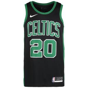 NBA Boston Celtics Gordon Hayward Statement Edition Swingman Basketballtrikot Herren, schwarz / grün, zoom bei OUTFITTER Online