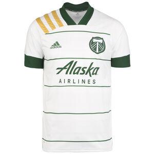Portland Timbers Trikot Away 2020 Herren, weiß / dunkelgrün, zoom bei OUTFITTER Online