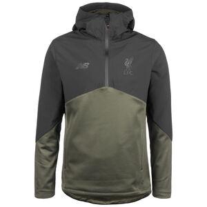 FC Liverpool Vector Speed Kapuzenpullover Herren, schwarz / dunkelgrün, zoom bei OUTFITTER Online