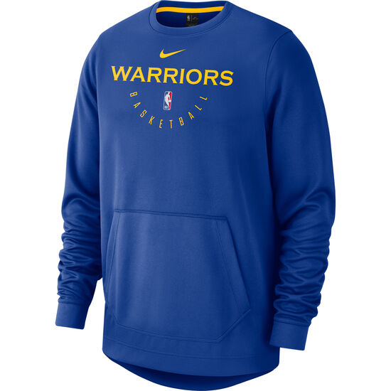 NBA Golden State Warriors Spotlight Longsleeve Herren, blau / gelb, zoom bei OUTFITTER Online