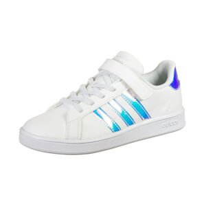 Grand Court Sneaker Kinder, weiß / silber, zoom bei OUTFITTER Online