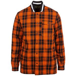 Quilted Flannel Wendejacke Herren, orange / schwarz, zoom bei OUTFITTER Online