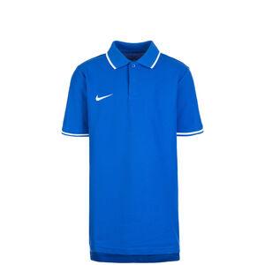 Club19 TM Poloshirt Kinder, blau / weiß, zoom bei OUTFITTER Online