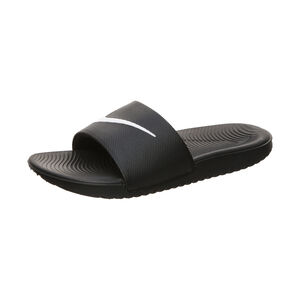 Kawa Slide Badesandale Kinder, schwarz / weiß, zoom bei OUTFITTER Online