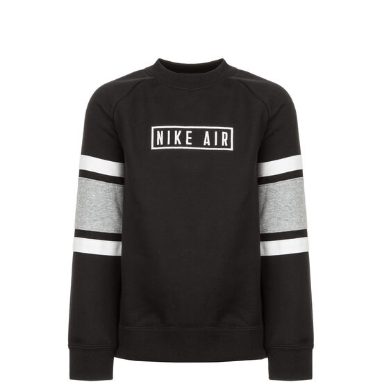 Air Crew Sweatshirt Kinder, schwarz / grau, zoom bei OUTFITTER Online