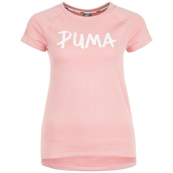Alpha Trainingsshirt Kinder, rosa / weiß, zoom bei OUTFITTER Online