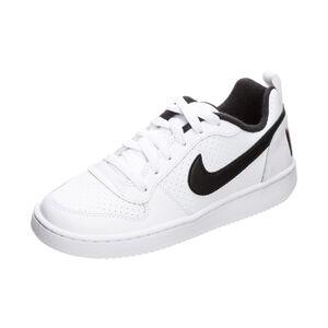 Court Borough Low Sneaker Kinder, weiß / schwarz, zoom bei OUTFITTER Online