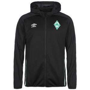 SV Werder Bremen Kapuzenjacke Herren, schwarz / grün, zoom bei OUTFITTER Online