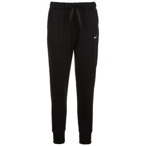 Dry Fleece Get Fit Trainingshose Damen, schwarz / weiß, zoom bei OUTFITTER Online