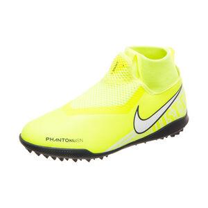 Phantom Vision Academy DF TF Fußballschuh Kinder, neongelb / weiß, zoom bei OUTFITTER Online
