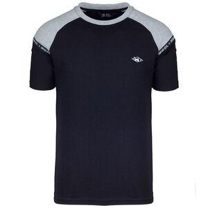 Hash Panel T-Shirt Herren, schwarz / hellgrau, zoom bei OUTFITTER Online