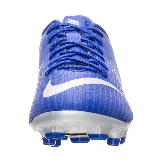 Mercurial Vapor XII Academy MG Fußballschuh Kinder, blau / schwarz, zoom bei OUTFITTER Online