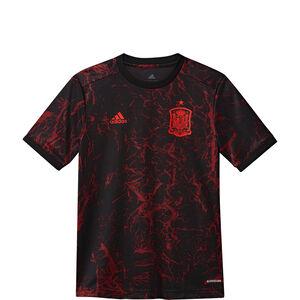Spanien Pre-Match T-Shirt EM 2021 Kinder, schwarz / rot, zoom bei OUTFITTER Online