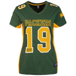 NFL Moro Poly Mesh Green Bay Packers T-Shirt Damen, grün / gelb, zoom bei OUTFITTER Online