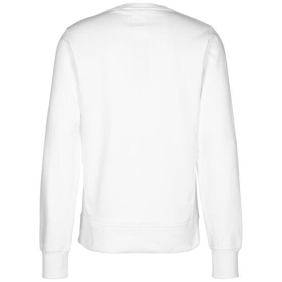 Essentials Stacked Logo Crew Sweatshirt Herren, weiß, zoom bei OUTFITTER Online