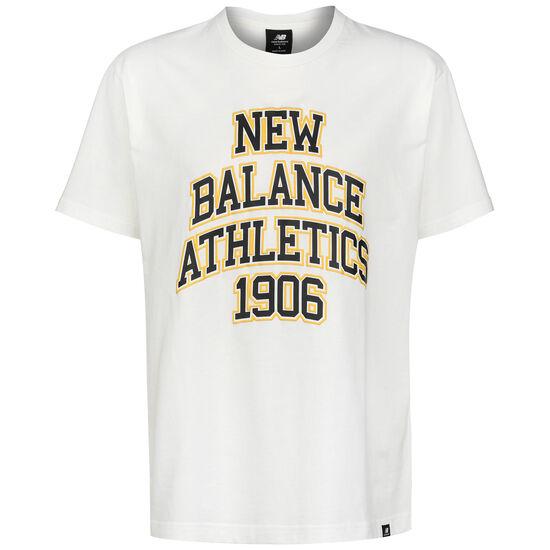 Athletics Varsity Spec T-Shirt Herren, weiß, zoom bei OUTFITTER Online