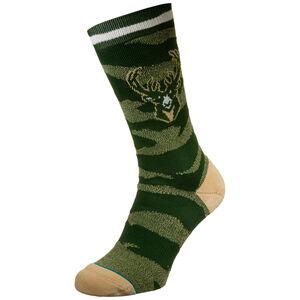 NBA Milwaukee Bucks Camo Melange Socken Herren, , zoom bei OUTFITTER Online