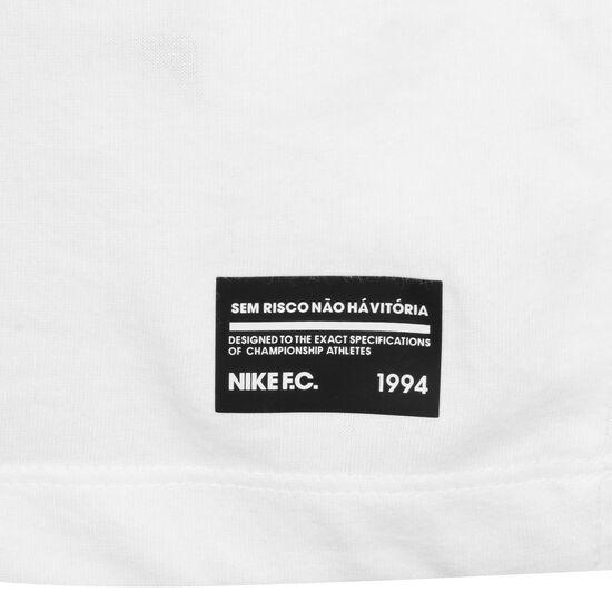 F.C. Dry Seasonal Block T-Shirt Herren, weiß / lila, zoom bei OUTFITTER Online