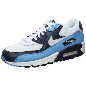 Air Max 90 Essential Sneaker Herren, blau / weiß, zoom bei OUTFITTER Online
