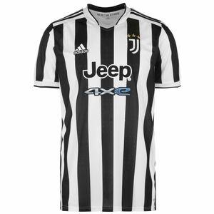 Juventus Turin Trikot Home 2021/2022 Herren, weiß / schwarz, zoom bei OUTFITTER Online