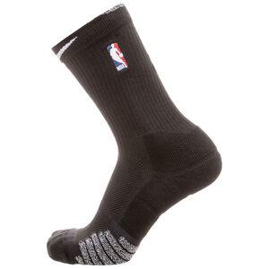 Grip Quick Crew NBA Socken, Schwarz, zoom bei OUTFITTER Online