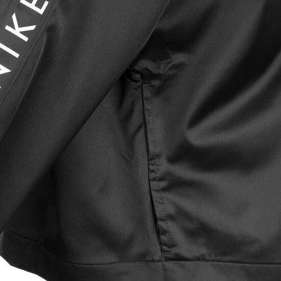 Air Satin Track Jacke Damen, schwarz / weiß, zoom bei OUTFITTER Online
