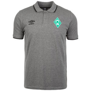 SV Werder Bremen Tipped Poloshirt Herren, grau, zoom bei OUTFITTER Online
