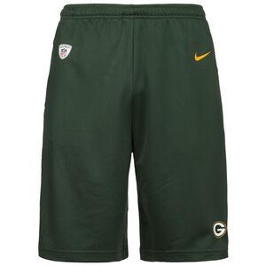 NFL Coach Green Bay Packers Shorts Herren, grün / gelb, zoom bei OUTFITTER Online