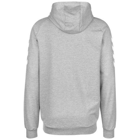 Hmlgo Cotton Kapuzenjacke Herren, grau / weiß, zoom bei OUTFITTER Online