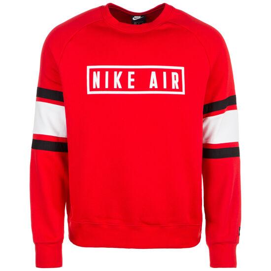 Air Crew Fleece Sweatshirt Herren, rot, zoom bei OUTFITTER Online