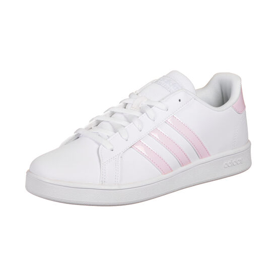 Grand Court Sneaker Kinder, weiß / rosa, zoom bei OUTFITTER Online