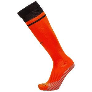 Niederlande Stutzen Home/Away Stadium EM 2021, orange / schwarz, zoom bei OUTFITTER Online