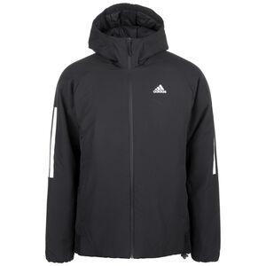 3-Streifen Hooded Insulated Kapuzenjacke Herren, schwarz, zoom bei OUTFITTER Online