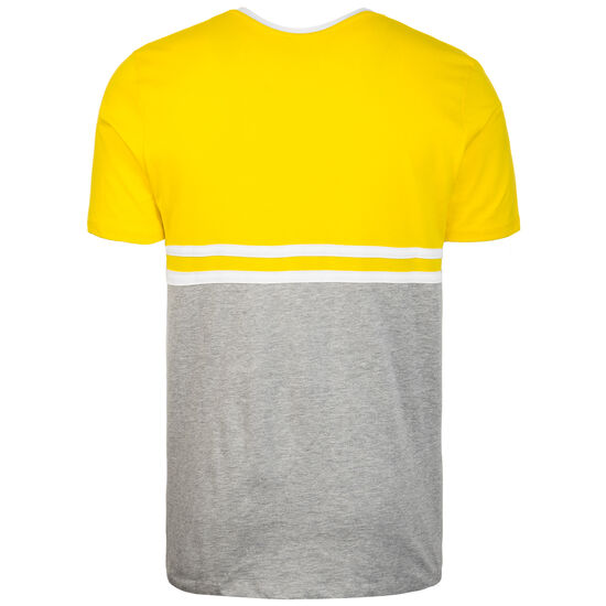 Block Stripe T-Shirt Herren, gelb / grau, zoom bei OUTFITTER Online