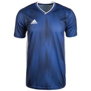 Tiro 19 Fußballtrikot Herren, dunkelblau / weiß, zoom bei OUTFITTER Online
