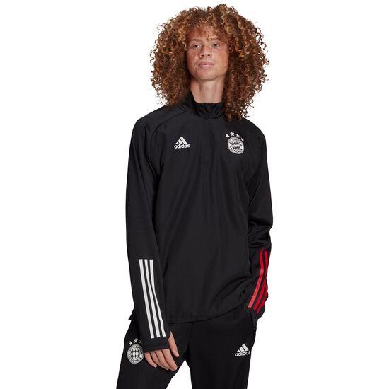 FC Bayern München Warm Trainingssweat Herren, schwarz / rot, zoom bei OUTFITTER Online