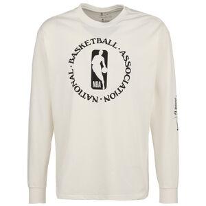 NBA Courtside City Edition Longsleeve Herren, beige / schwarz, zoom bei OUTFITTER Online