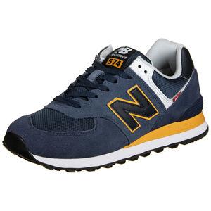 574 Sneaker Herren, dunkelblau / dunkelgelb, zoom bei OUTFITTER Online