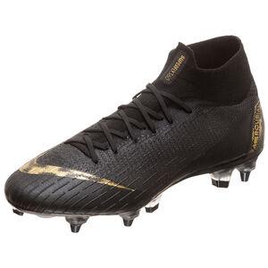 Mercurial Superfly VI Elite DF AC SG-Pro Fußballschuh Herren, schwarz / gold, zoom bei OUTFITTER Online